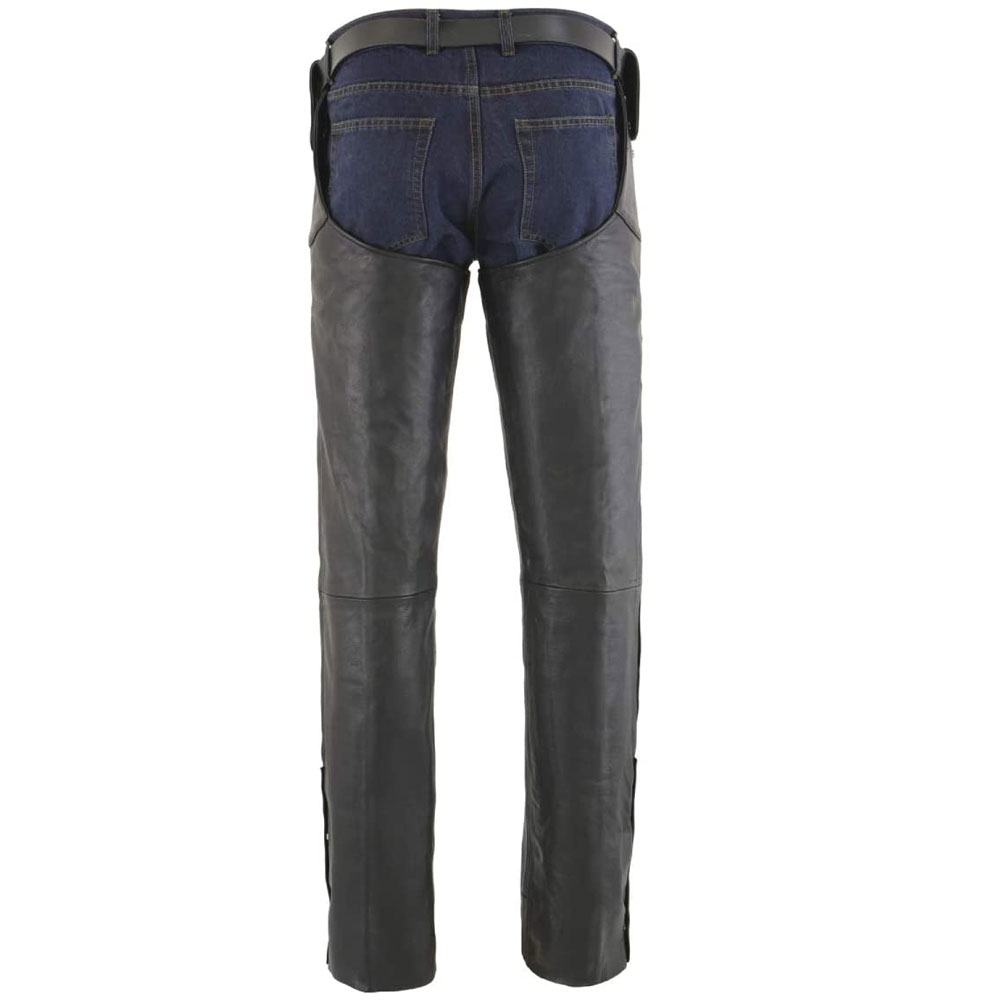 Leather Riding Full Chaps Classic Style Horse Riding Chaps For Men