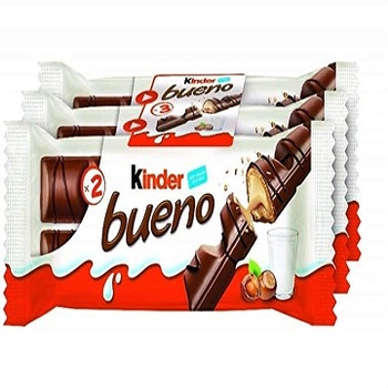 Kinder Bueno T2 Ferrero, Raffaello, Nutella, Kinder, Rocher for wholesale price