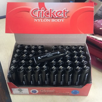Colored Disposable Cricket Lighter Lighter with Wholesale Price