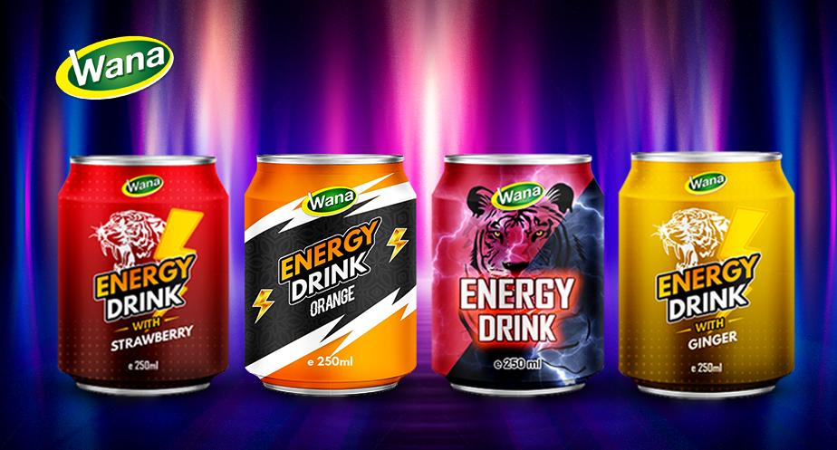 YOUR PRIVATE LABEL Sport Energy Drink 250mL Canned