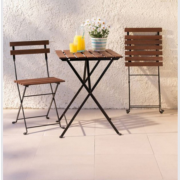 Outdoor Folding Acacia Wood Table And Chair Set 3 Pcs Small Folding Garden Bistro Set Buy Folding Table And Chair Set Acacia Bistro Garden Set Folding Wood Bistro Table Chair Set Product On