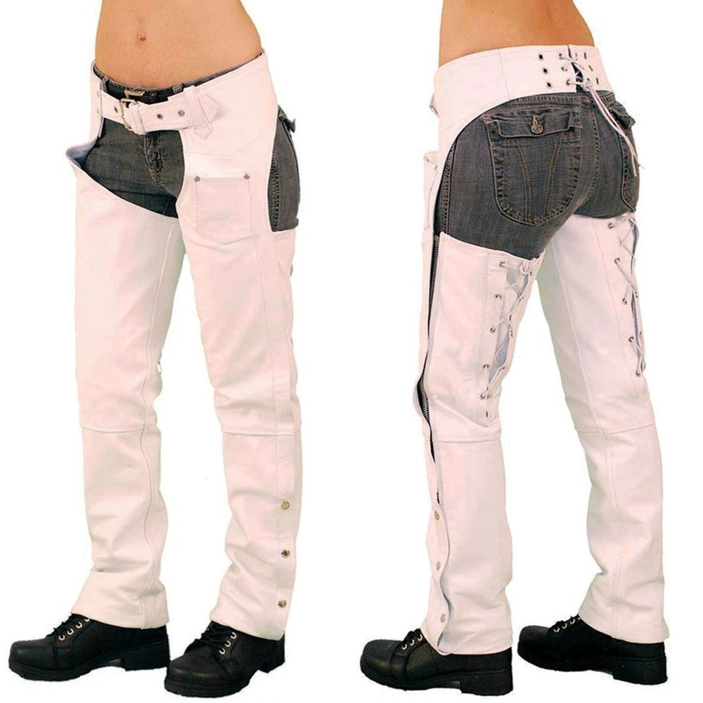 Best Classic style Horse Riding Top Quality Stylish Leather chaps with Low Rise Double Buckle Chap
