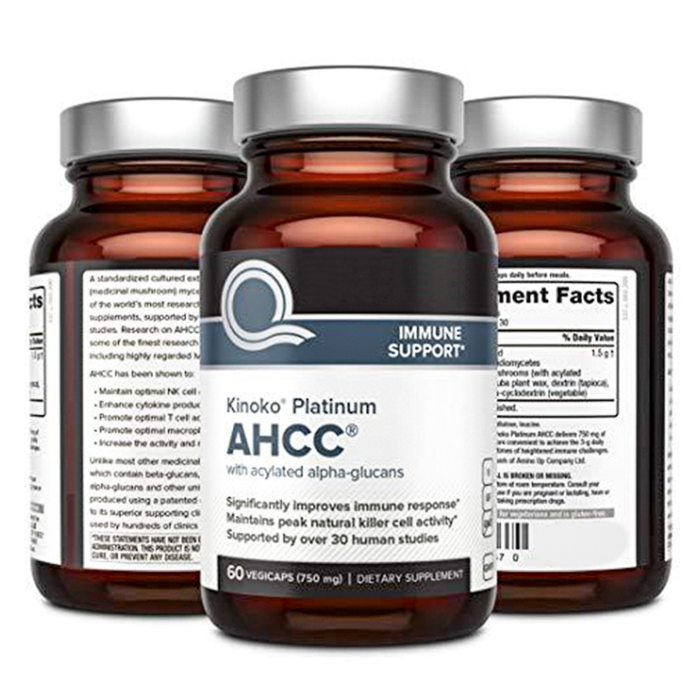 Amazon Hot Sale AHCC Reishi Lions Mane Mushroom Extract Supplement Capsules for Immune Support