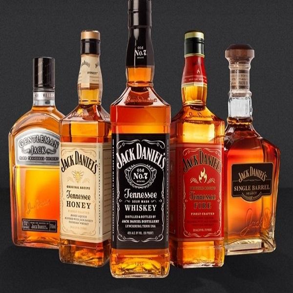 Лучший Джек Даниэль Теннесси смешанный Виски Ликер в упаковке для бутылок из США