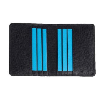 Buy Best Quality Genuine Leather Credit Card Holder With provision TO Hold 6 Credit Cards With Bifold Style At Best Price