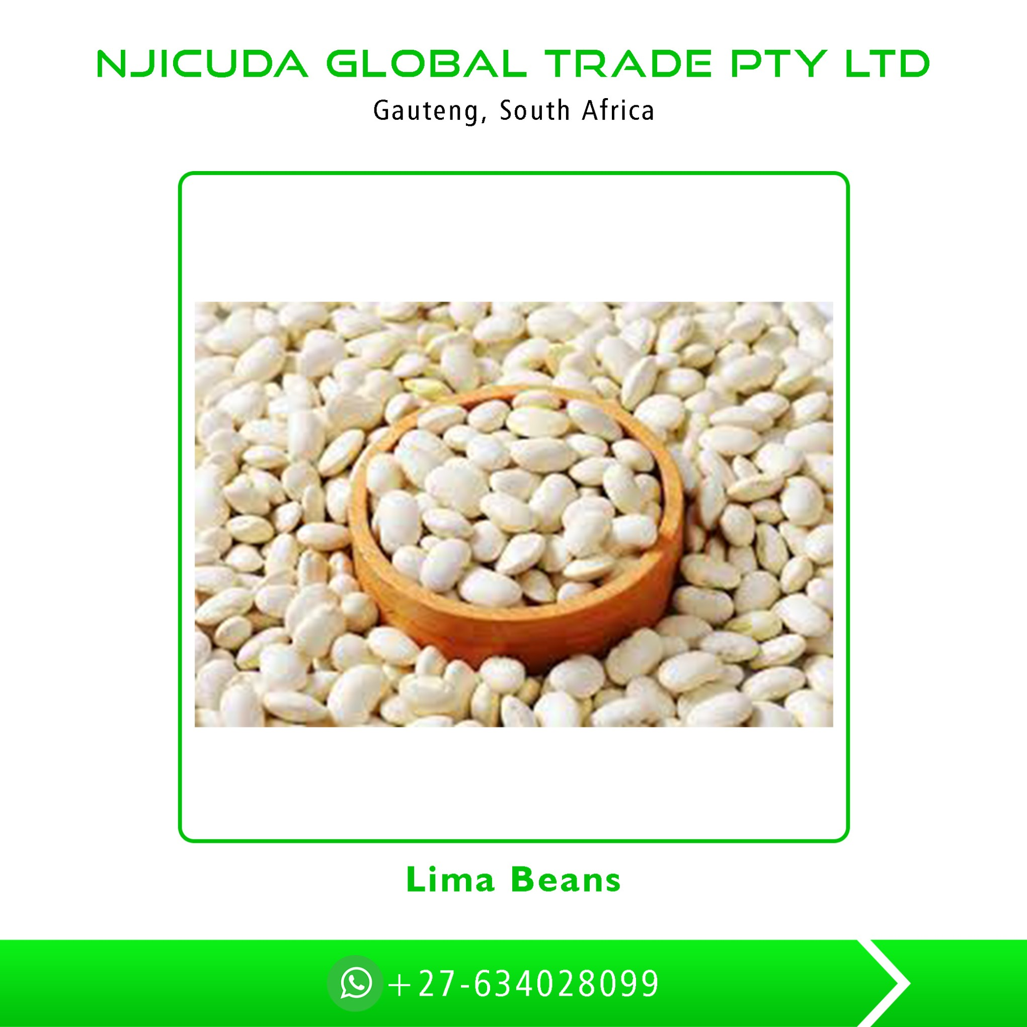 High Grade Top Quality Wholesale Lima Beans at Bulk Price