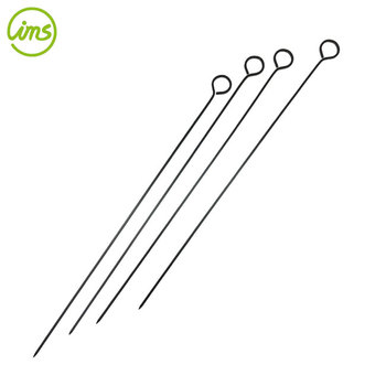 Set Of 4 Non Stick Kebab Grilling BBQ Skewers
