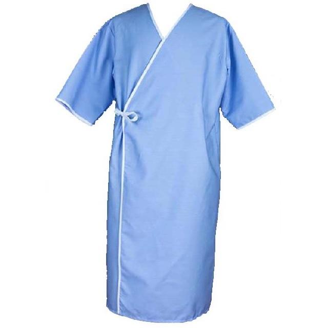 Women Disposable Patient Gown for Clean