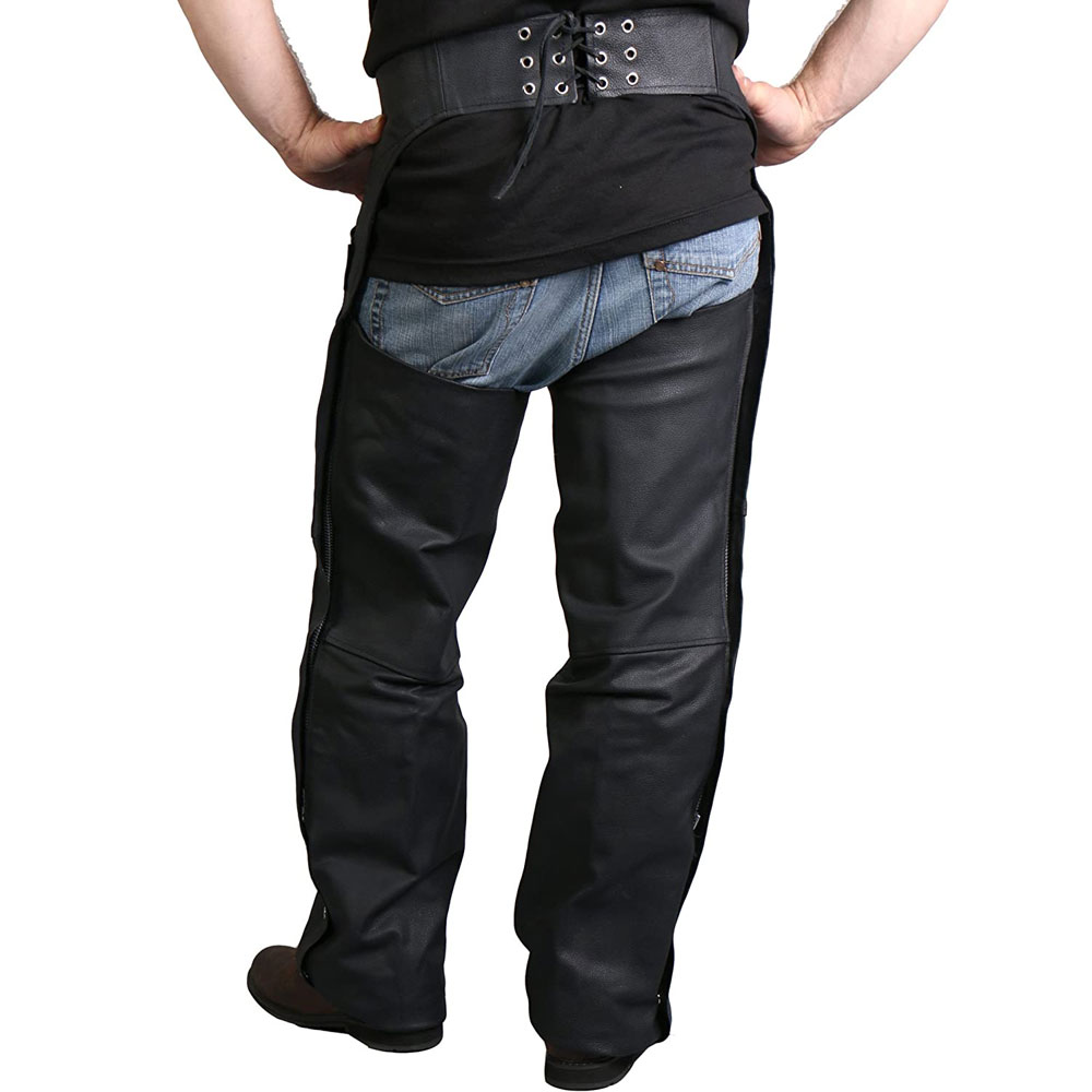 2021 Fashion Equestrian Factory Made Leather Horse Riding Chaps
