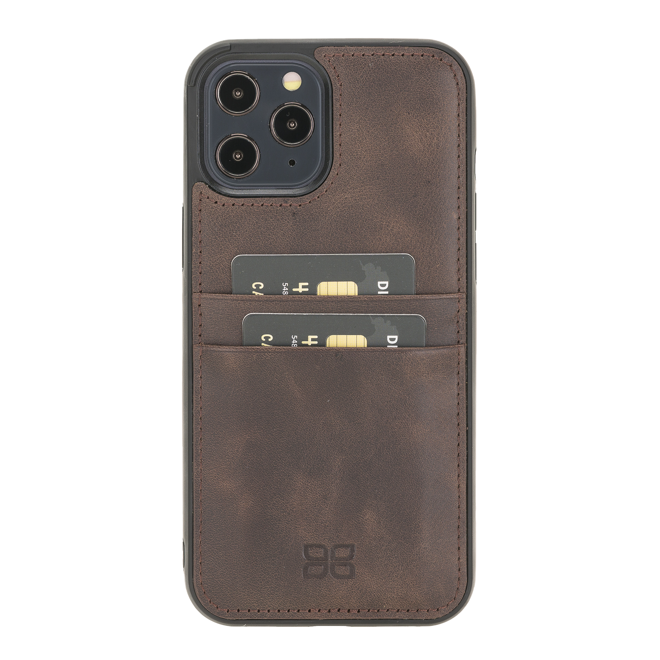 2020 New Edition Genuine Leather Phone Case for iPhone 12 6.7