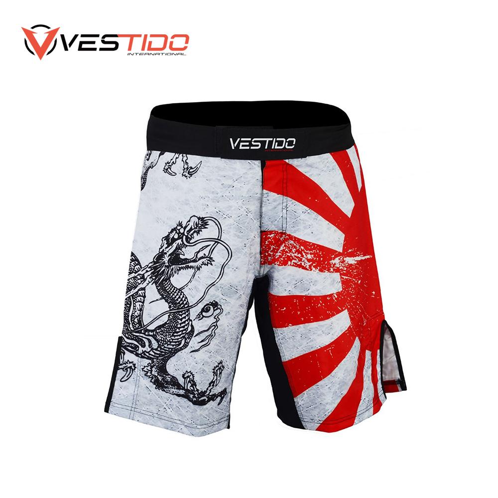 Elastic Boxing Shorts Fighting Kickboxing MMA Sports Supplies Training