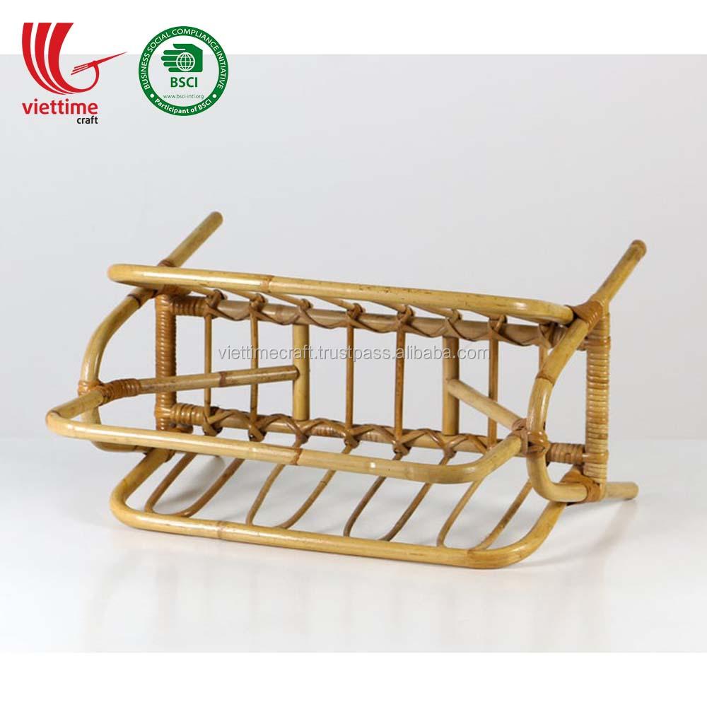 Новый дизайн, ротанговая полка, стойка для магазинов, держатель, оптовая продажа, сделано во Вьетнаме