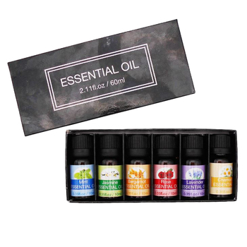 Wholesale huile essentielle private label 100% pure distillation pure gift set skin care Moisturizing 10ml essential oil