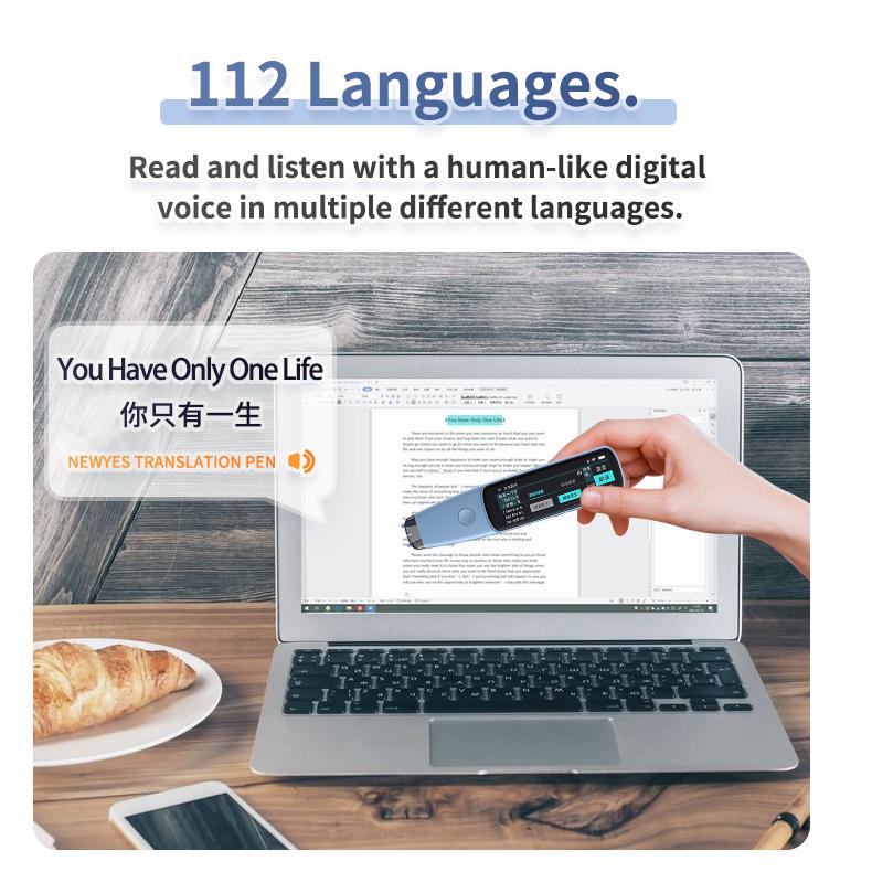 NEWYES Scanne Blue Tooth Digital Ocr Scan Переводные ручки умный переводчик голосового языка