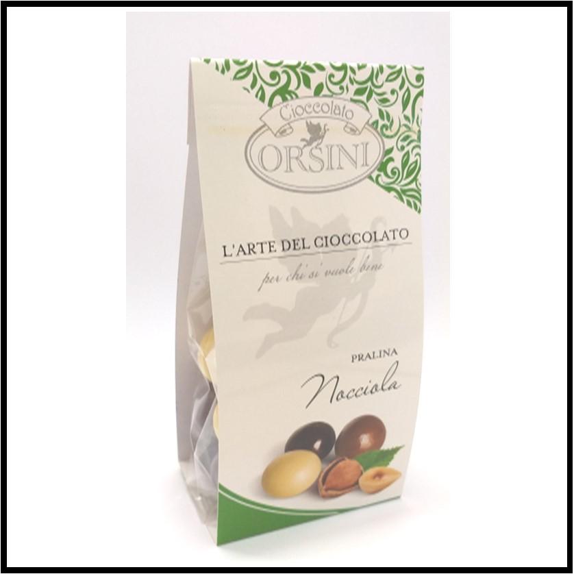 Dragee pralines hazelnut and chocolate mix