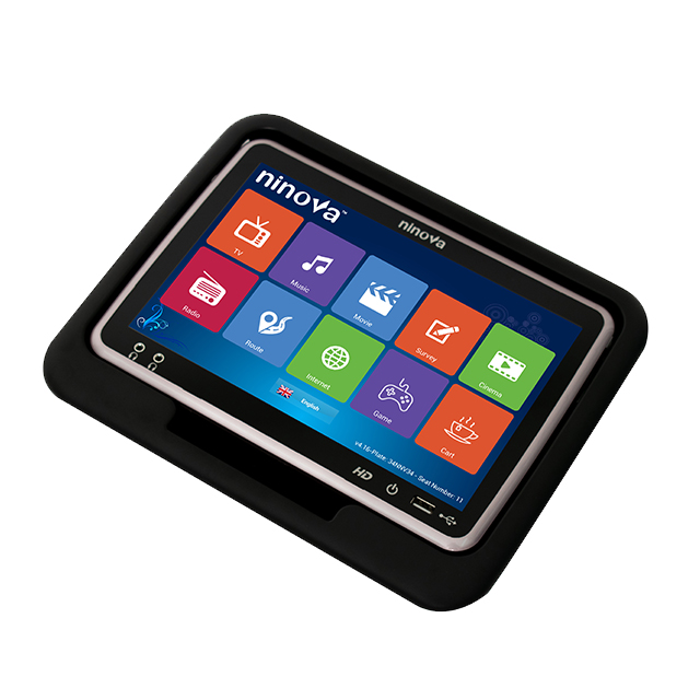 High Quality Bus seat monitors with server for bus entertainment system