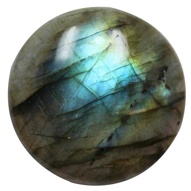 Green Emerald Quartz Loose Gemstone Round 12 mm Calibrated Cabochons AAA Grade 5 Pcs.