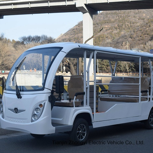 Hot Sale 8 Seat Electric Mini Sightseeing Bus Free shipment to your address