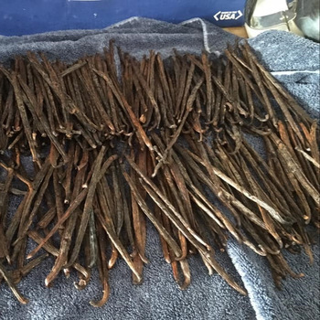 Hot Selling Madagascar Vanilla Beans Vanilla Beans Kg Vanilla Beans Dark Bulk Style Packing Pure Weight Shelf Brown Origin Type