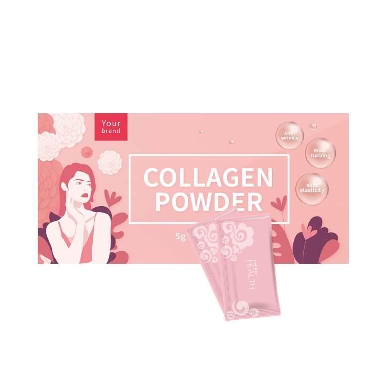 Private Label Skin whitening Marine Collagen Powder