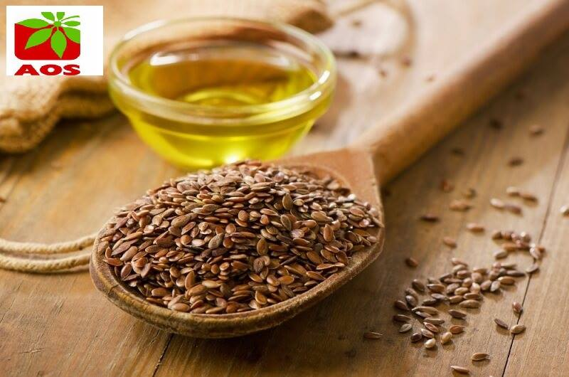 Raw Flax seed Golden / Brown Color Flaxseed