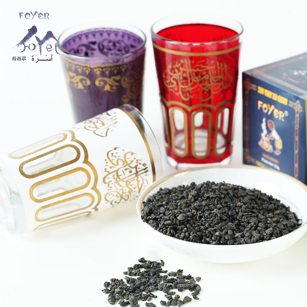 China High-Quality 3505A Gunpowder Green Tea for tea wholesale market Morocco, Algeria, Mauritania - 4uTea | 4uTea.com