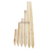 Cheap Price For Exports Bulk Quantity 100% Natural Acacia Fence Round Wood Stake Set