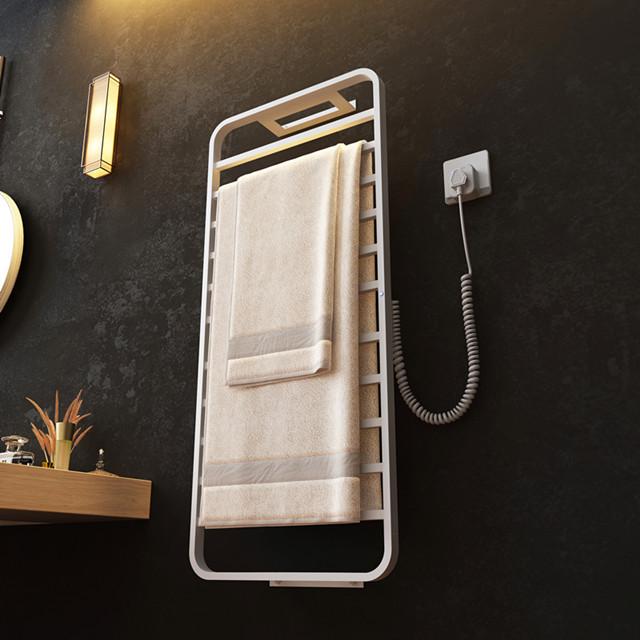 Комфорт издание R-105B серии с электрическим подогревом сушилка для полотенец умная электрическая вешалка для полотенец белый/черный 140W