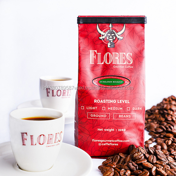 At The Best Prices and Coffee Beans from Italian Coffee Beans Packing Weight 225gr Italian Roast ROBUSTA Neutral Normal Bag