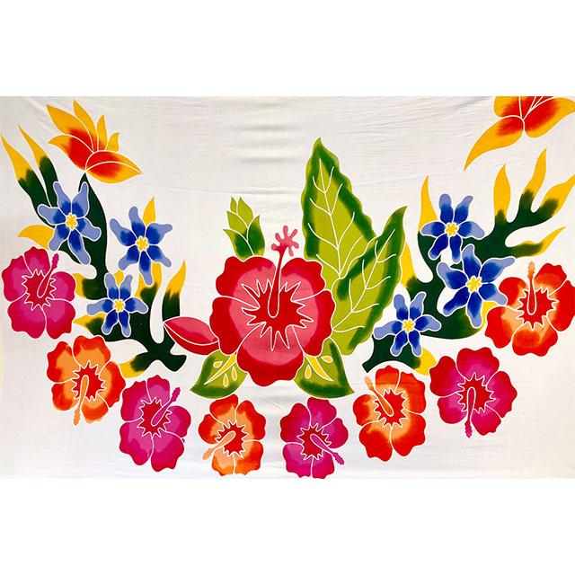Blossom Flower Bali Sarong Handmade