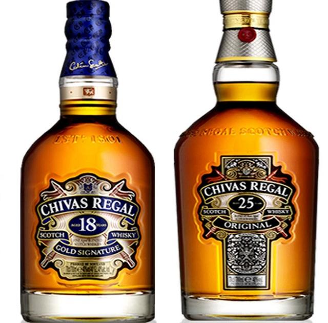 Оптовая продажа, шотландский ВИСКИ Chivas Regal 18 50cl, 70cl и 1L