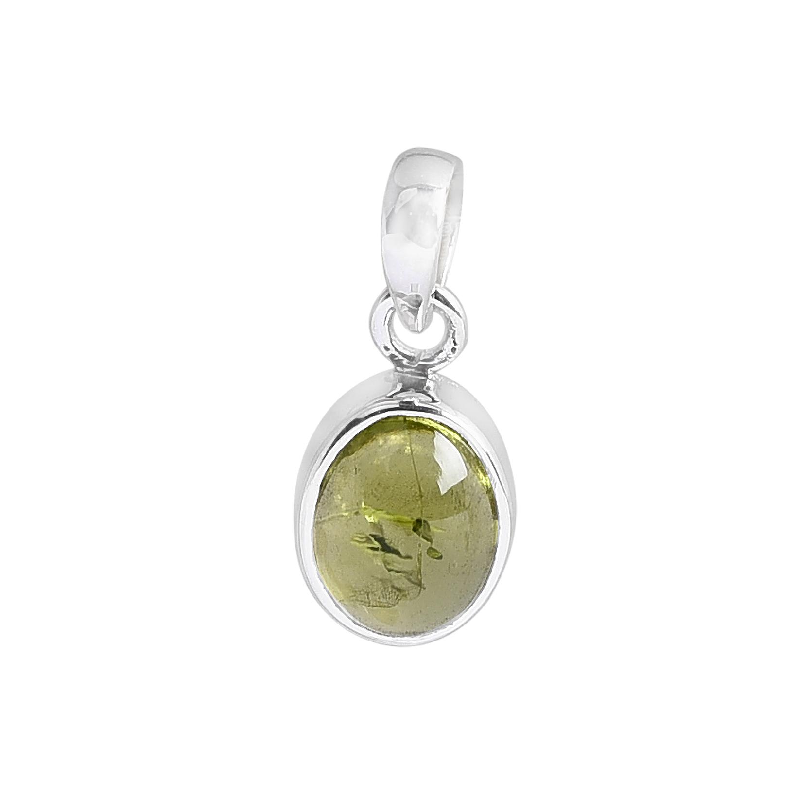 Necklace Jewellery Designer Pendant Silver Plated Silver Plated Pendant Handmade Jewelry Peridot Pendant Gemstone Pendant