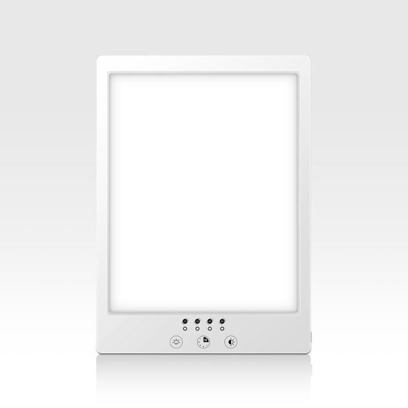 Регулируемый 3 режима цвет Светодиодная терапия светный таймер, встроенный таймер грустно сезонная депрессия лампы