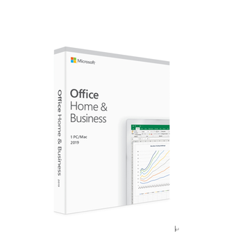 Original Microsoft Office Home and Business 2019 software