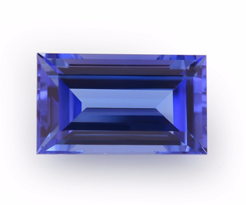 Unique Gem TZ Ready For Jewelry Setting The Violet Tanzanite Baguette Shape Loose Tanzanite By Real Gems Semi Precious Gems
