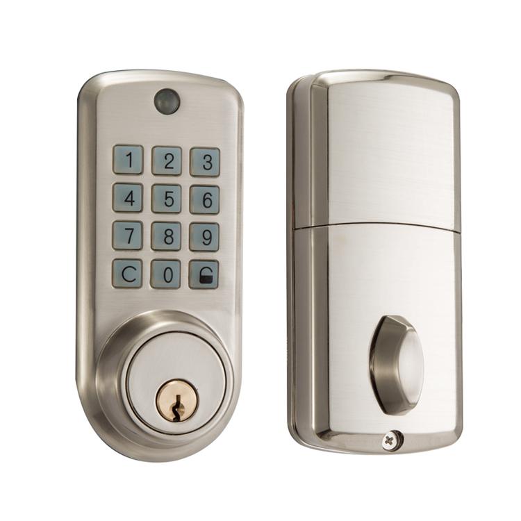 Ene Smart Digital Door Lock Code Change Pword With Key Keypad Locks For Doors Product On Alibaba