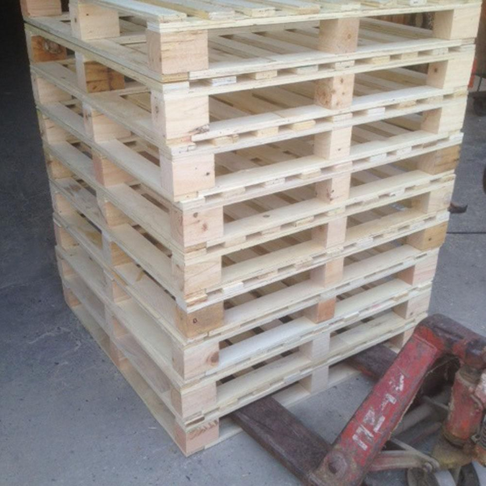 Wholesale Cheap price warehouse storage euro standard 1200*800 epal 4 way entry stacking epal tray solid wood forklift pallet