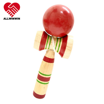 ALLWINWIN KEN02 Kendama - 212mm Awesome Rubber Wood Hand Eye Coordination Traditional Japanese