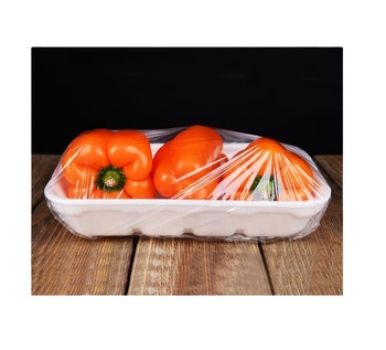 300 to 450 mm width PVC Transparent for Single-use Food Packaging Food Film