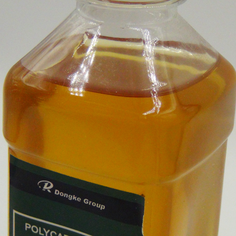 PCE poly-carboxylate superplasticizer water-reducing