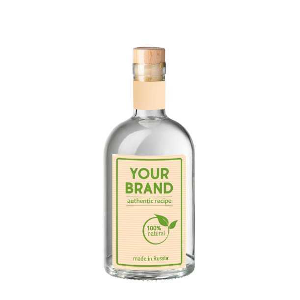 Own brand Standard gin 0.7 L bottle OEM