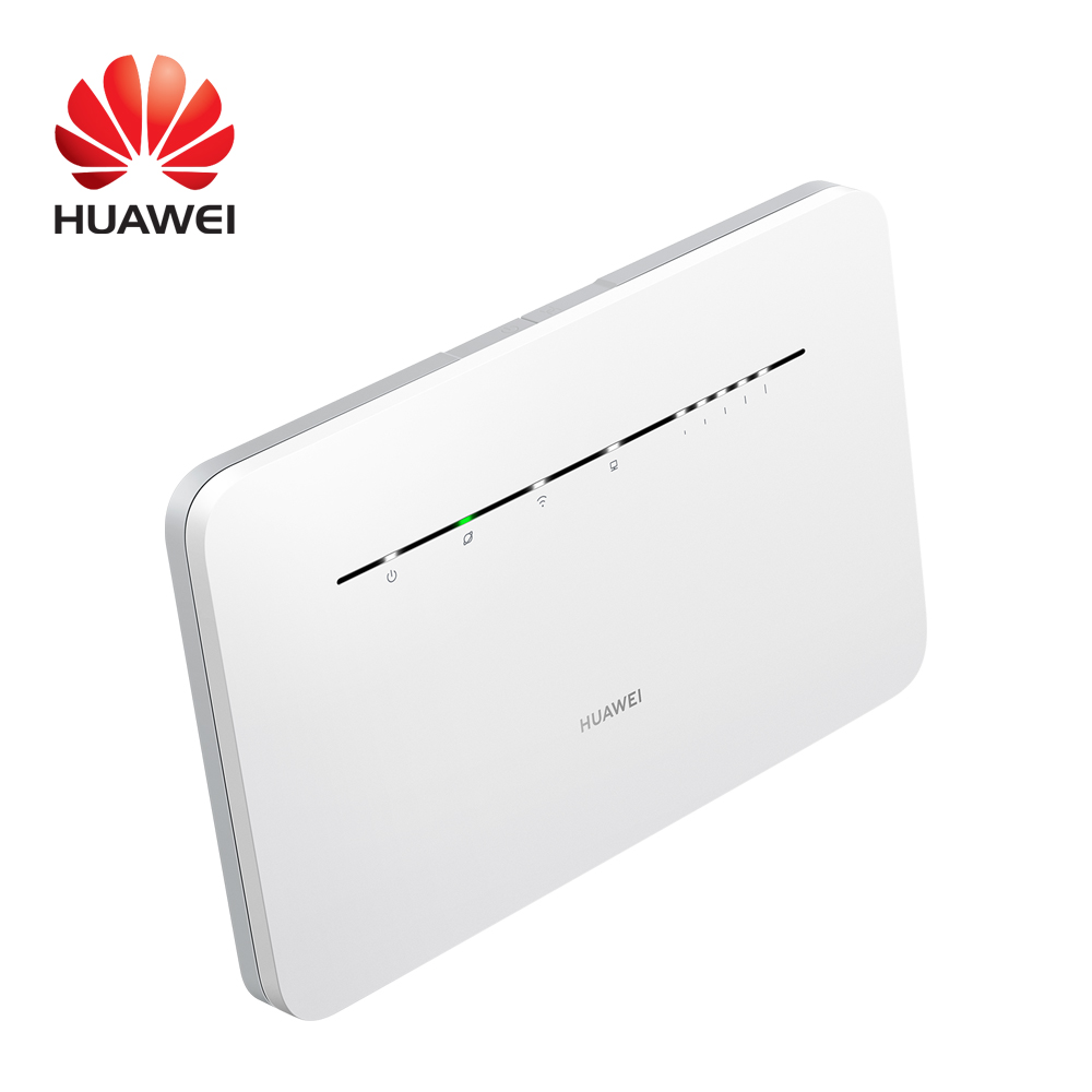 Huawei Authorized Distributor LTE Cat7 B535-232 Unlocked Wireless Wi-Fi Router 4G Sim Card 65 Users 1200Mbps