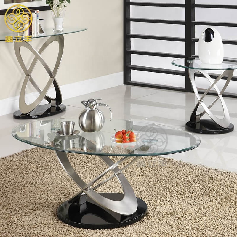 Guangdong Xinlifeng Factory 3 Piece Oval Glass Top Coffee Table Sets Buy 3 Piece Oval Coffee Table Set Oval Coffee Table Sets Oval Glass Top Coffee Table Sets Product On Alibaba Com